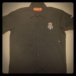 Dickies h.e.d. pe work shirt small